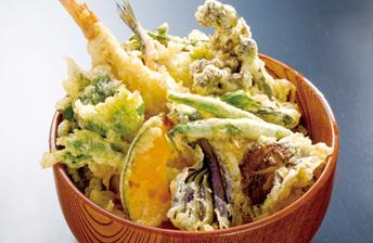 オリジナル海鮮天丼